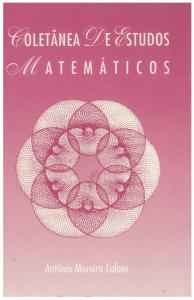 Capa para Coletânea de Estudos Matemáticos