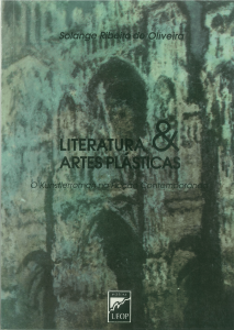 Capa para Literatura e Artes Plásticas: o Kunstlerroman na Ficção Contemporânea